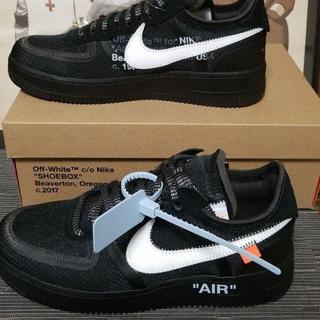 NIKE - NIKE OFF WHITE THE TEN AIR FORECE 1 27cm