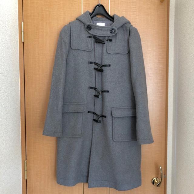 LOWRYS FARM(ローリーズファーム)のローリーズファーム ダッフルコート グレー レディースのジャケット/アウター(ダッフルコート)の商品写真