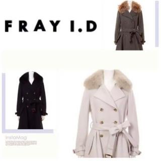 フレイアイディー(FRAY I.D)のFRAYID コート リアルファー付き(毛皮/ファーコート)