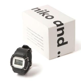 ニコアンド(niko and...)のニコアンド 腕時計 Baby-Gコラボ(腕時計)