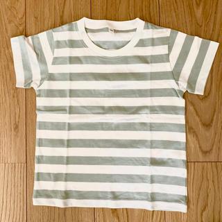 ムジルシリョウヒン(MUJI (無印良品))のもも様専用*無印良品 Tシャツ グリーン サイズ100 2枚セット(Tシャツ/カットソー)