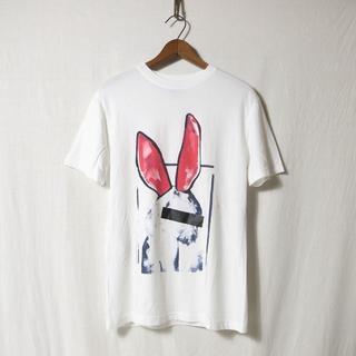 アレキサンダーマックイーン(Alexander McQueen)のアレキサンダーマックイーン バニー Tシャツ XS  ブランド古着(Tシャツ/カットソー(半袖/袖なし))