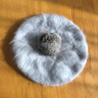ファー ベレー帽