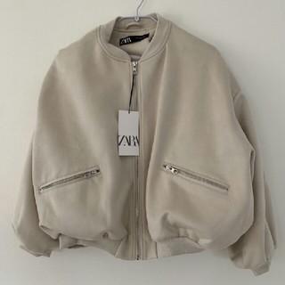 ZARA - ZARA♥人気スエード風ボンバージャケット