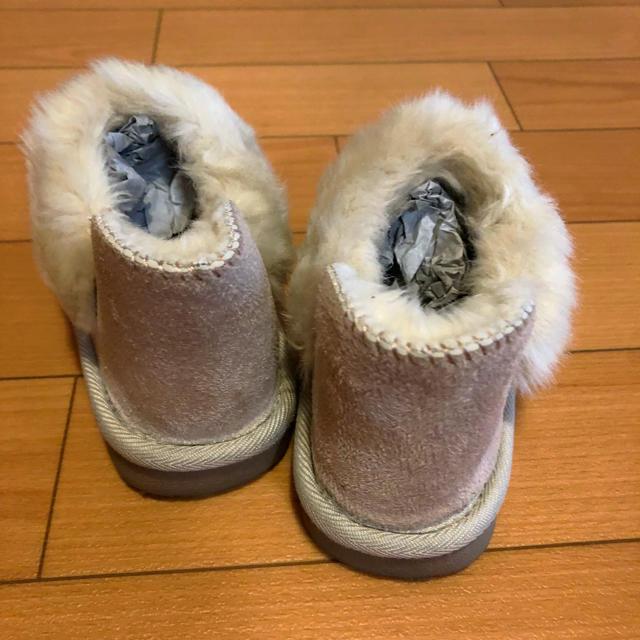 petit main(プティマイン)のプティマイン ボアブーツ キッズ/ベビー/マタニティのキッズ靴/シューズ(15cm~)(ブーツ)の商品写真