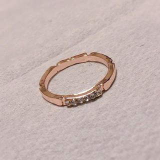 ピンクゴールド♡リング(リング(指輪))