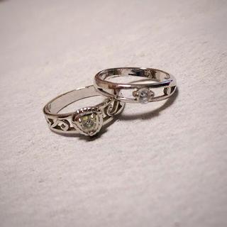 シルバー♡ピンキーリングset(リング(指輪))
