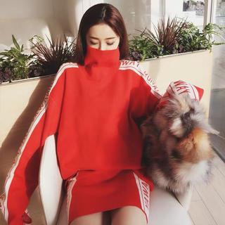 スタイルナンダ(STYLENANDA)のインポート♡ロゴニットセットアップ♡韓国ファッション(セット/コーデ)