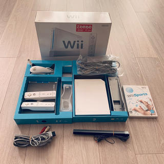 Wii - 送料無料★wii本体+wii Sports+ジャンクリモコンセット