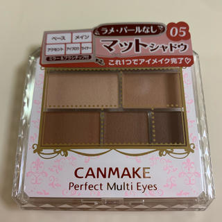 CANMAKE - 《新品》キャンメイク パーフェクトマルチアイズ 05