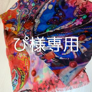 エトロ(ETRO)の新品未使用 ETRO エトロx蜷川実花【Eden】コラボ ショール(マフラー/ショール)