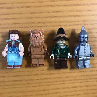 Lego - 【※小物なし※】LEGO オズの魔法使い ミニフィグ 4体セット