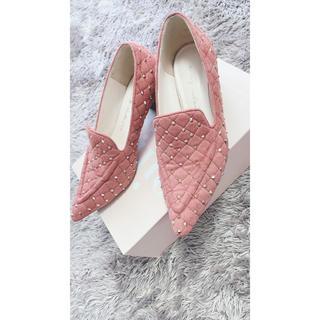 エイミーイストワール(eimy istoire)のエイミーイストワール S ピンク(ローファー/革靴)