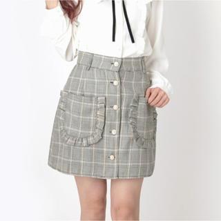 Ank Rouge - AnkRouge♡チェック柄フリルポケットスカート