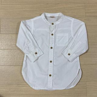プティマイン(petit main)のpetit main シャツ 90cm(Tシャツ/カットソー)