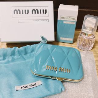 ミュウミュウ(miumiu)の新品 ミュウミュウ ミラー ミニ香水付き(ミラー)