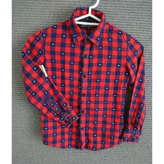 TOMMY HILFIGER - キッズ★トミーヒルフィガー★120センチ★チェックシャツ