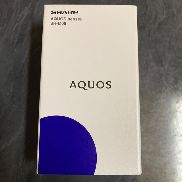 SHARP(シャープ)のSHARP AQUOS sense2 SH-M08 スマホ/家電/カメラのスマートフォン/携帯電話(スマートフォン本体)の商品写真