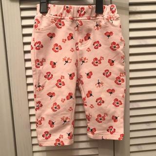 アカチャンホンポ(アカチャンホンポ)の定価1382円 アカチャンホンポ 花柄パンツ 80サイズ  (パンツ)