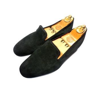 Crockett&Jones - 極美品【英国製◆1874年創業の名門◆旬な素材】UK8 27cm