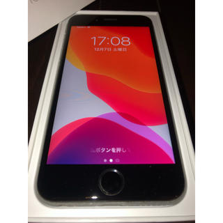 au - 【箱付き美品】iPhone 6s Space Gray 64 GB au