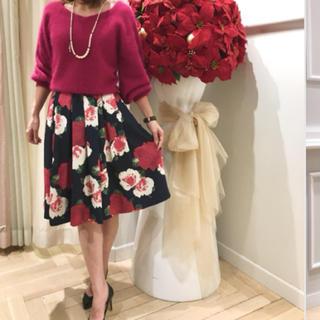アンドクチュール(And Couture)の【新品タグ付き】アンドクチュール スカート(ひざ丈スカート)