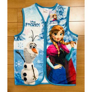 アナトユキノジョオウ(アナと雪の女王)のアナと雪の女王 スリーパー ベスト 毛布 130cm(パジャマ)