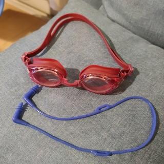 水泳用ゴーグルと耳栓