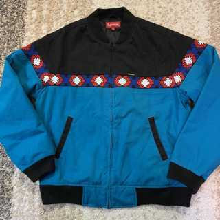 Supreme - Suprem 2017SS Trail Jacket 青黒M