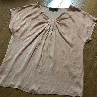 アンタイトル(UNTITLED)のアンタイトル テラコッタカラー Tシャツ インナーM(カットソー(半袖/袖なし))