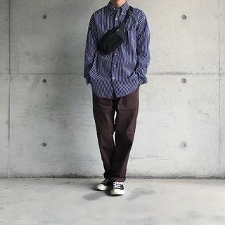 COMOLI - graphpaper ストライプシャツ
