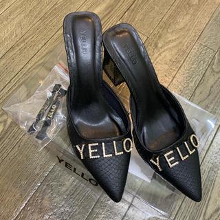 イエローブーツ(Yellow boots)のYELLO 星あや ドラゴン ミュール 送料無料(ミュール)