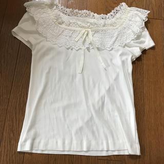 JaneMarple - ジェーンマープル 豪華レース Tシャツ 美品