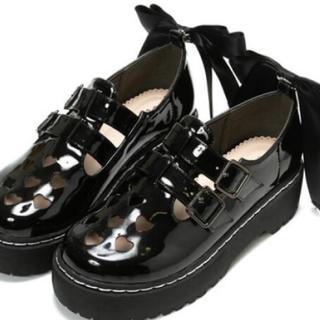 アンクルージュ(Ank Rouge)のリボンローファー(ローファー/革靴)