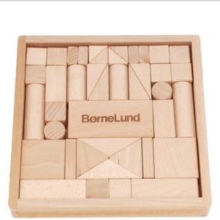 ボーネルンド(BorneLund)の【新品未使用】ボーネルンド 積木 つみき 積み木 41ピース S(積み木/ブロック)