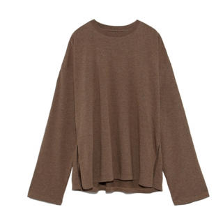 Mila Owen - サイドスリットロングスリーブTシャツ