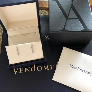Vendome Aoyama - ヴァンドームアオヤマ プラチナダイヤモンドピアス
