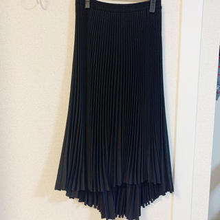 セオリー(theory)のセオリー ウォッシャブルプリーツスカート ブラック 新品 未使用(ロングスカート)
