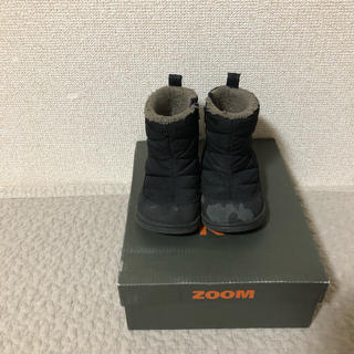 ズーム(Zoom)のzoom スノーブーツ黒 14cm(ブーツ)