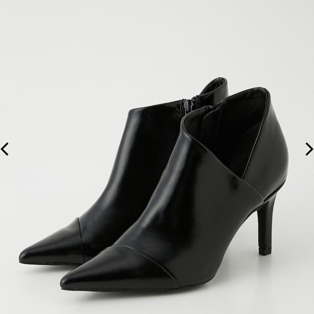 rienda(リエンダ)のrienda リエンダ ショートブーツ ブーティ ブラック レディースの靴/シューズ(ブーティ)の商品写真