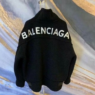 Balenciaga - Balenciagaバレンシアガ ジャケット LOGO  ブラック 新品