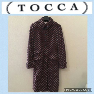 トッカ(TOCCA)の美品 ️TOCCA☆コート アウター サイズ2(チェスターコート)