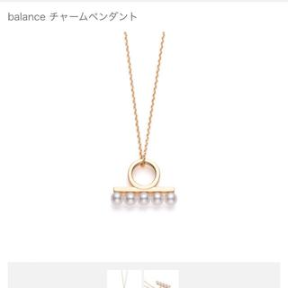 TASAKI - tasaki バランス ミニ ネックレス