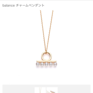 タサキ(TASAKI)のtasaki バランス ミニ ネックレス(ネックレス)