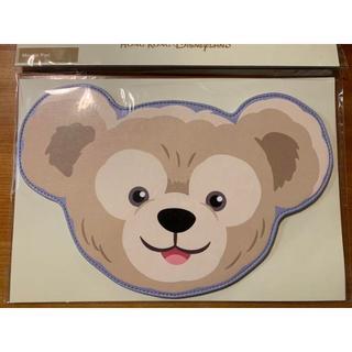 ダッフィー(ダッフィー)の新品未使用 香港ディズニーダッフィー マウスパッド(オフィス用品一般)