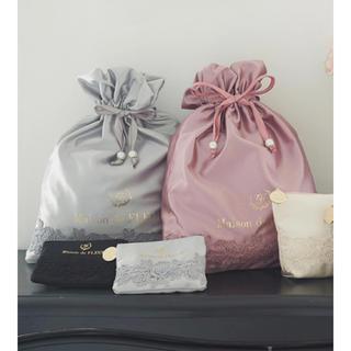 メゾンドフルール(Maison de FLEUR)の【未使用】ローズレース巾着(その他)