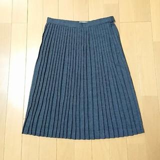 ハナエモリ(HANAE MORI)のモリハナエ プリーツスカート(ひざ丈スカート)