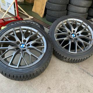 ビーエムダブリュー(BMW)のBMW3シリーズ225/45R18スタッドレスタイヤ ホイール4本(タイヤ・ホイールセット)