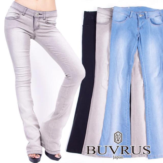 BUVRUS(バブラス)の◇BUVRUS フレアレギパン◇ レディースのパンツ(デニム/ジーンズ)の商品写真