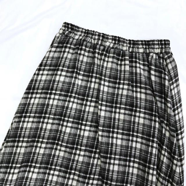 Lochie(ロキエ)の美品【 vintage 】 レトロスカート チェック柄スカート マキシスカート レディースのスカート(ロングスカート)の商品写真